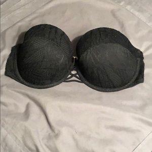Victoria Secret Swimsuit top in black lace 34DD